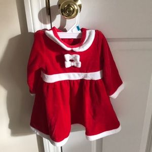 Other - Baby Girl Santa Dress